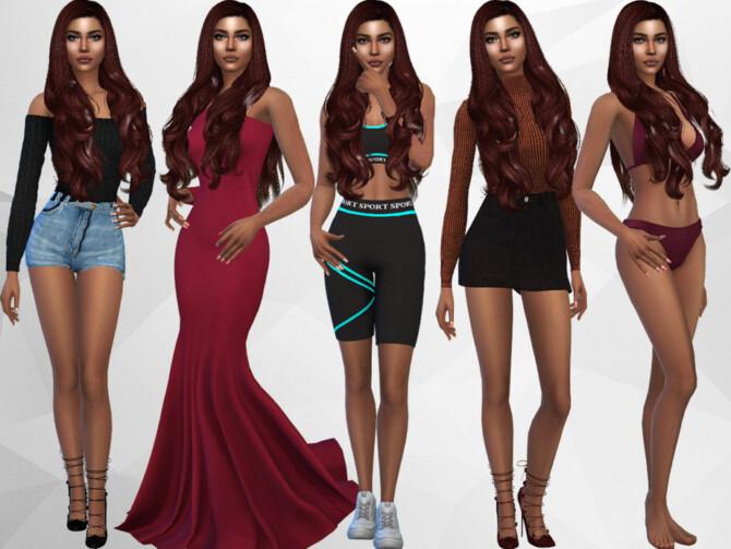 Sims 4 Karishma Madan by divaka45 at TSR