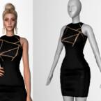 Goldenshadow Collection Dress V Viy By Viy Sims