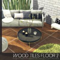 Wood Tiles Floor 2 By Rirann