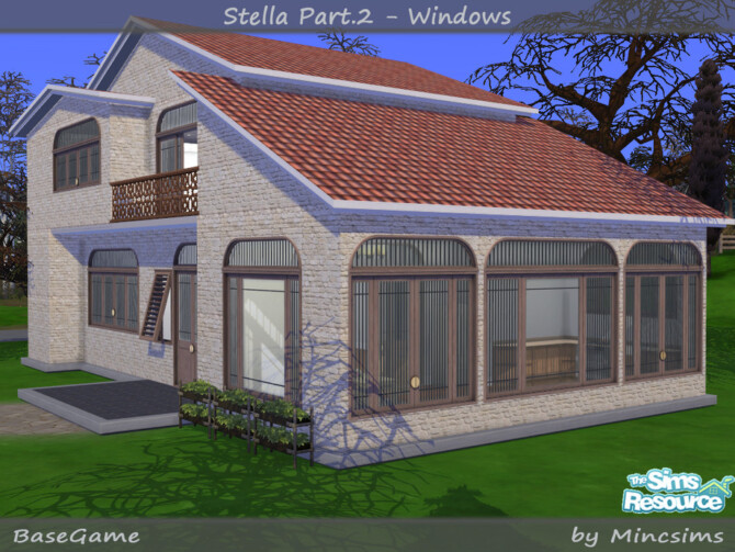 Sims 4 Stella Part.2 Windows by Mincsims at TSR