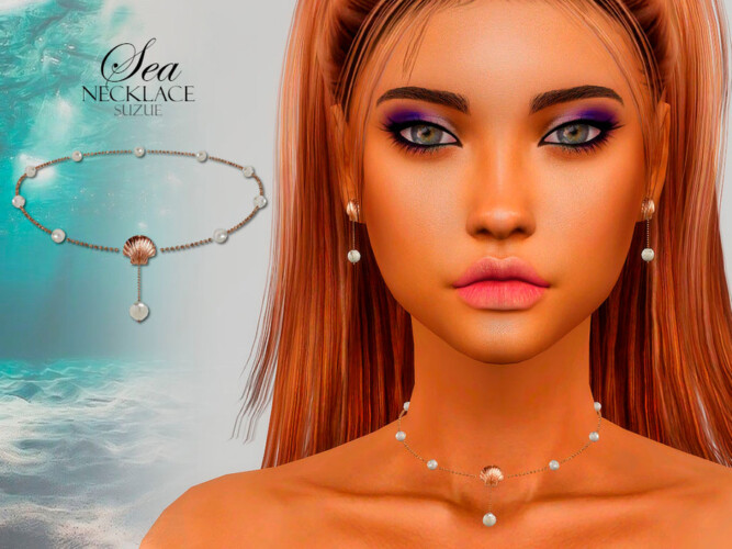 Sea Necklace By Suzue
