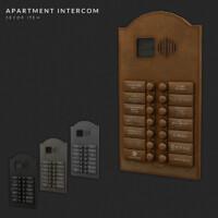 Apartment Intercom & Luxury Brand Bell Plaque