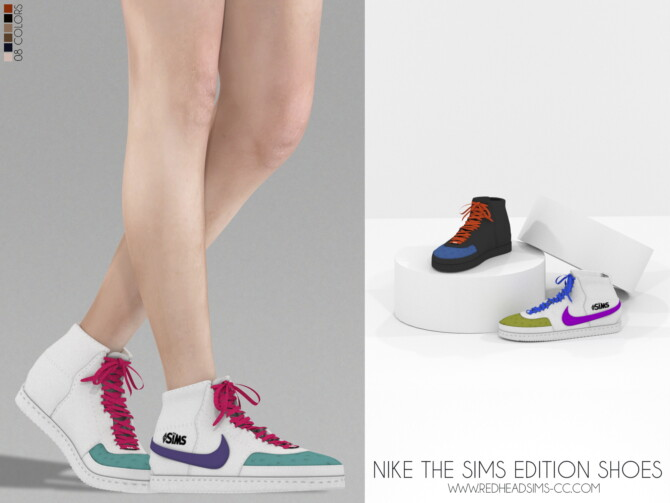 Sims 4 THE SIMS EDITION SHOES at REDHEADSIMS