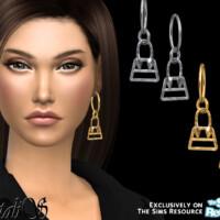 Bag Pendant Hoop Earrings By Natalis
