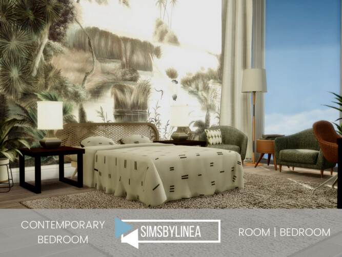 Contemporary Bedroom By Simsbylinea