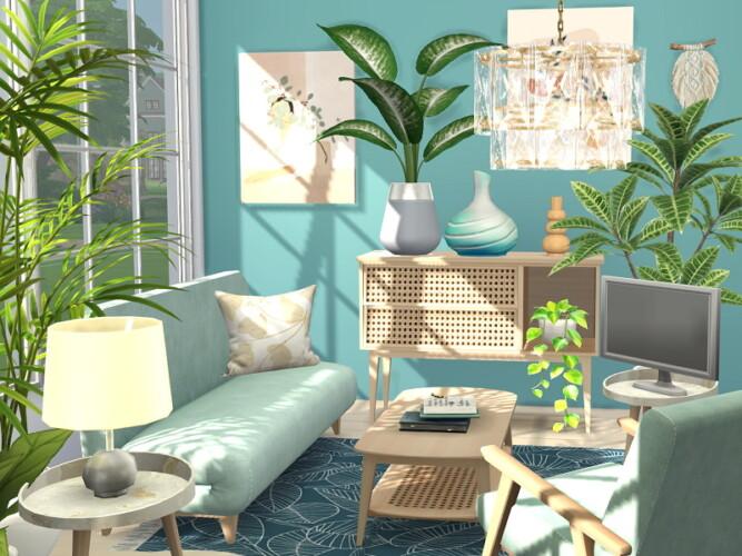 Coastal Living Room By Flubs79