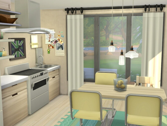 Sims 4 Suburban Tiny House by Flubs79 at TSR