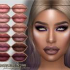 Frs Lipstick N260 By Fashionroyaltysims