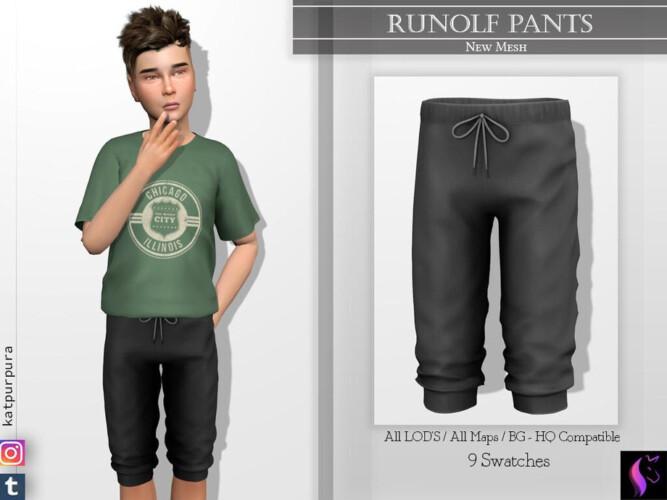 Rudolf Pants By Katpurpura