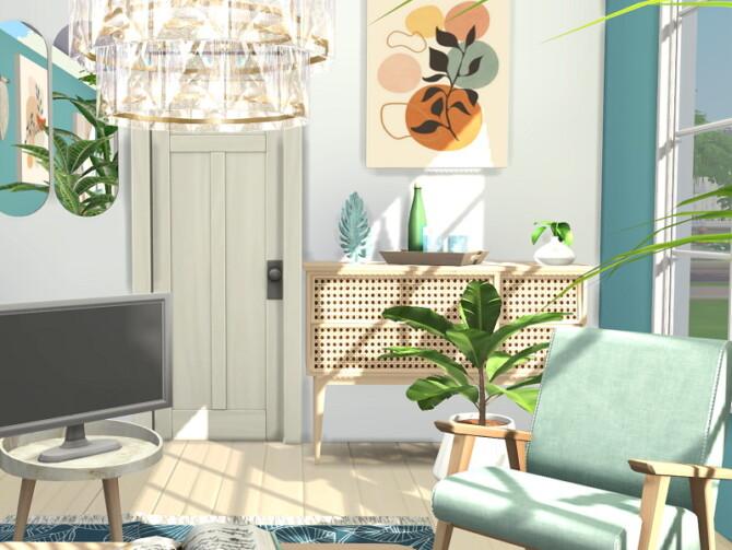 Sims 4 Coastal Living Room by Flubs79 at TSR