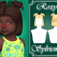 Roxy Hairstyle (toddler) By Sylviemy