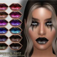 Frs Lipstick N257 By Fashionroyaltysims