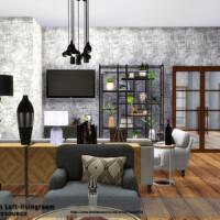Brooklyn Loft Livingroom By Danuta720