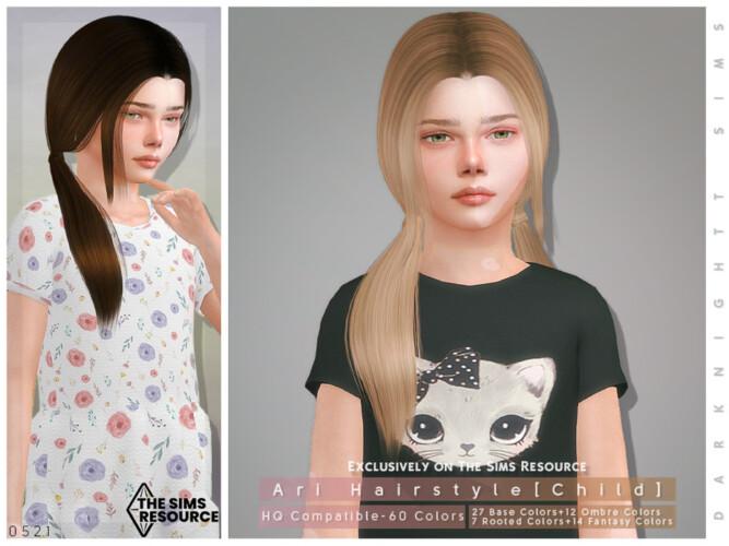 Ari Hairstyle [child] By Darknightt