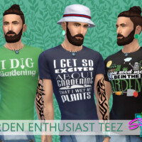 Garden Enthusiast Teez By Simmiev