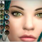 Natural Eye Colors 14 By Bakalia