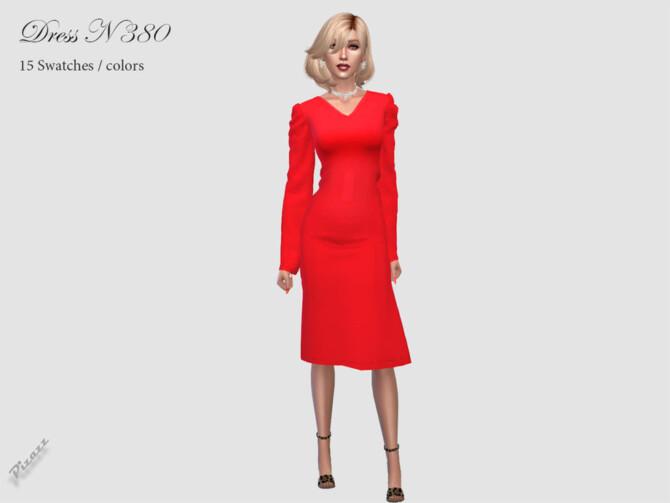 Sims 4 DRESS N 380 by pizazz at TSR