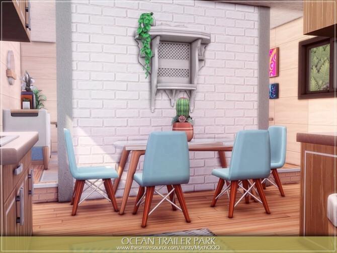 Sims 4 Ocean Trailer Park by MychQQQ at TSR