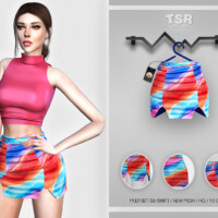Multi Set-126 (skirt) Bd463 By Busra-tr