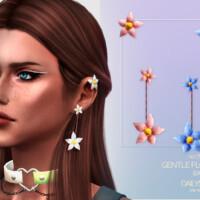 Gentle Flower Earrings By Dailystorm