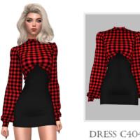 Dress C404 By Turksimmer