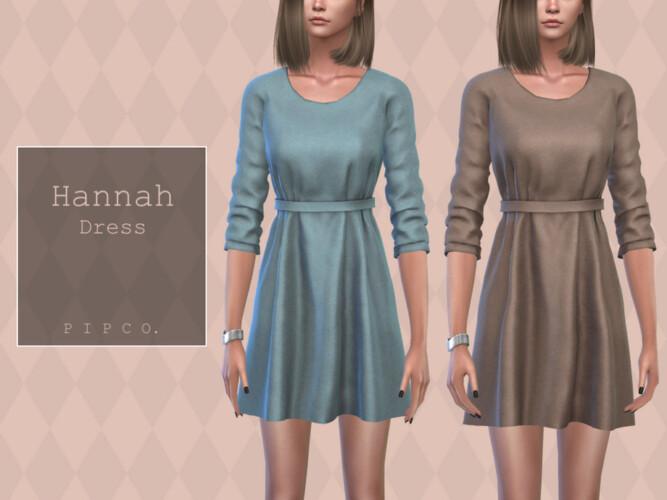 Hannah Dress By Pipco