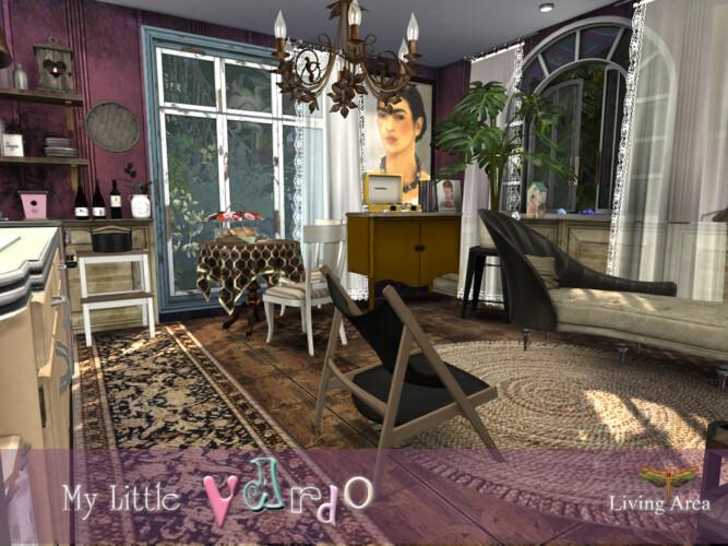 My Little Vardo Living Area By Fredbrenny