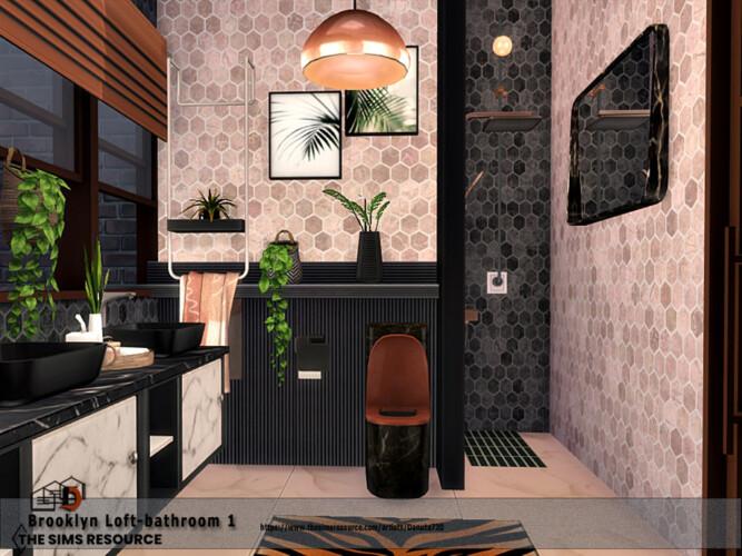 Brooklyn Loft Bathroom By Danuta720