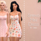Spring Mini Dress By Dissia