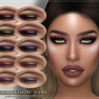 Frs Eyeshadow N165 By Fashionroyaltysims
