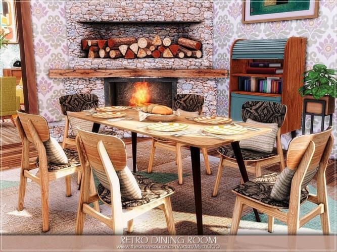 Retro Dining Room By Mychqqq