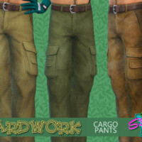 Yardwork Cargo Pants By Simmiev