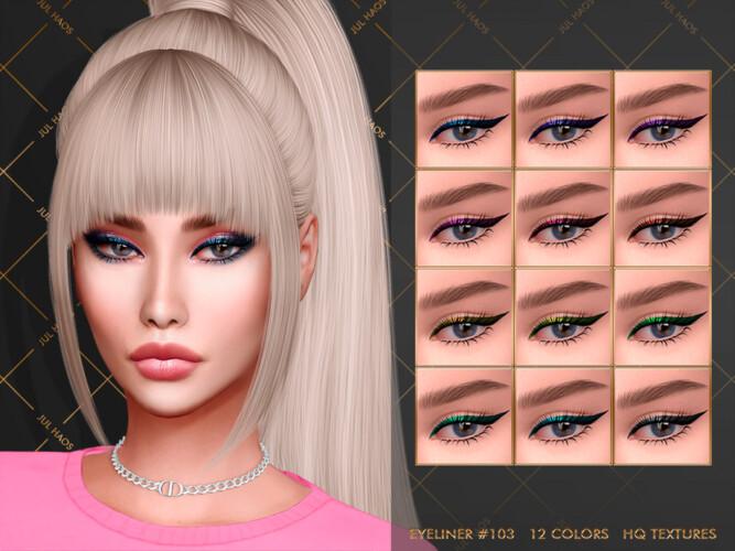 Eyeliner #103 By Jul_haos