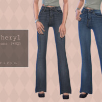 Sheryl Jeans (bootcut) By Pipco