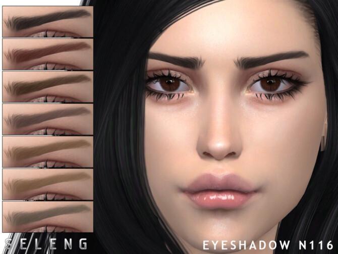 Sims 4 Eyebrows N116 by Seleng at TSR