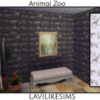 Animal Zoo Wallpaper By Lavilikesims