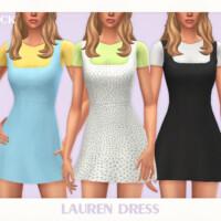 Lauren Dress By Black Lily