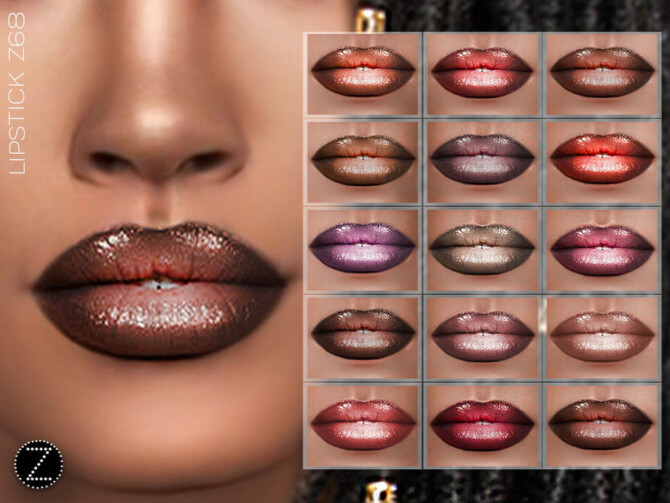 Sims 4 LIPSTICK Z68 by ZENX at TSR