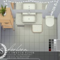 Forlorn Tile Floor By Networksims