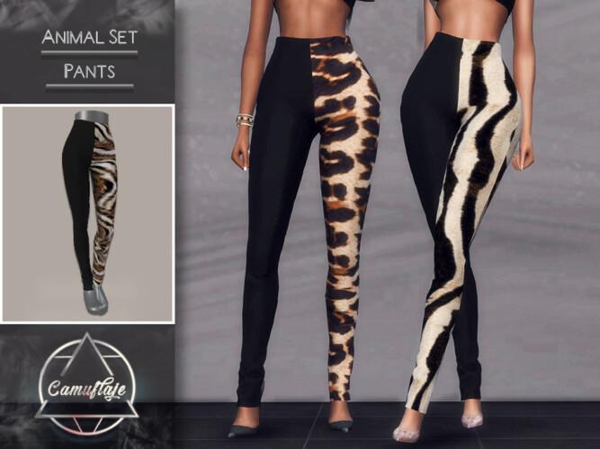 Animal Set (pants) By Camuflaje