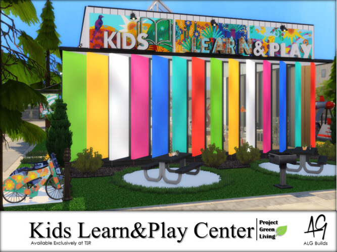 Kids Learn And Play Center By Algbuilds