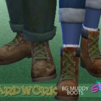 Yardwork Muddy Bg Boots By Simmiev