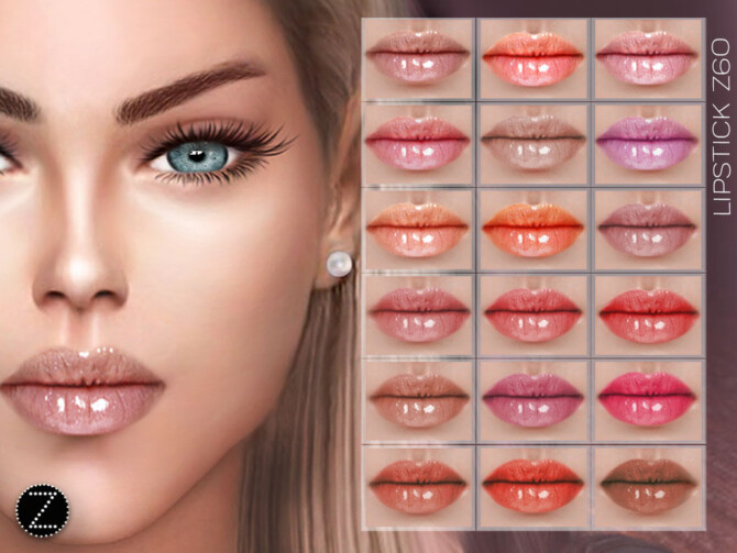Sims 4 LIPSTICK Z60 by ZENX at TSR