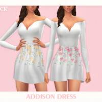 Addison Dress By Black Lily