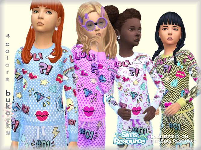 Sweater For Girls By Bukovka