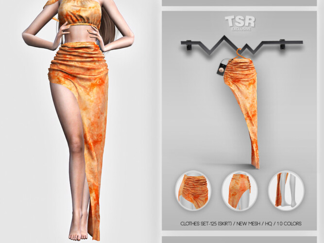 Clothes Set-125 (skirt) Bd461 By Busra-tr
