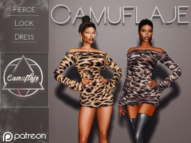 Fierce Look (dress) By Camuflaje