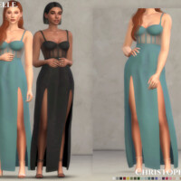 Tanerelle Dress By Christopher067