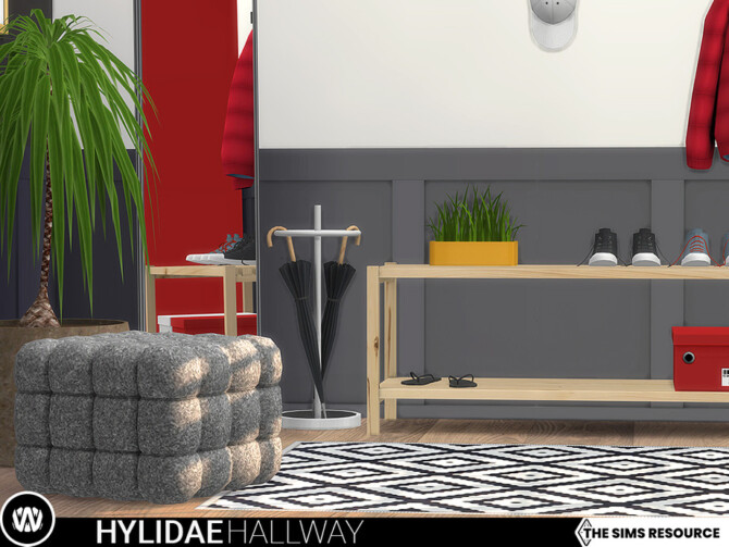 Sims 4 Hylidae Hallway by wondymoon at TSR