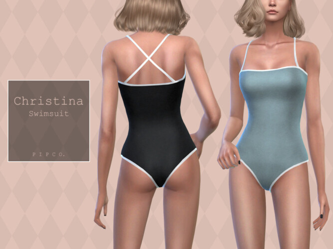 Christina Swimsuit By Pipco